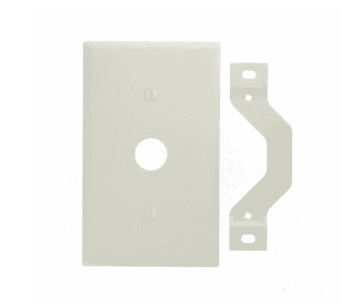 Leviton Gang Plastic Cable Wall Plate