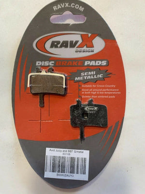 RavX Disc Brake Pads SM01 For X-Country/Trail