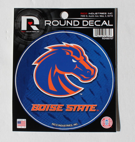 NCAA Boise State Broncos Round Decal - RD490707
