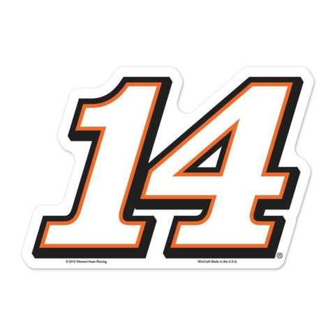 Tony Stewart 2015 WinCraft #14 Logo on The Gogo