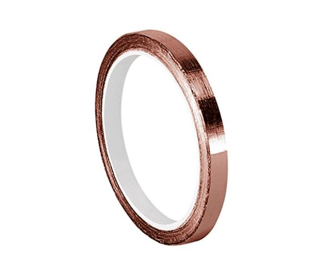 "Tapecase Copper Foil Tape (3m 1126) 0.125"" x 6 yd."