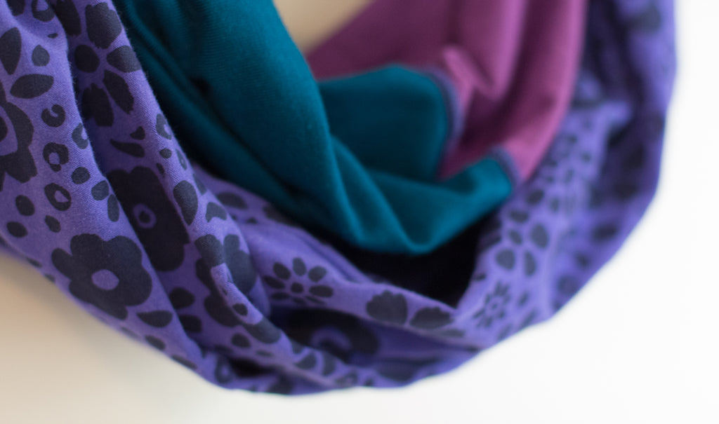 Creative Process: Infinity Scarves