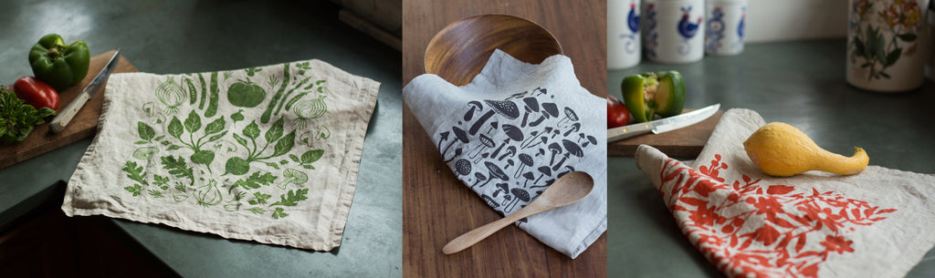 New Linen Tea Towels!