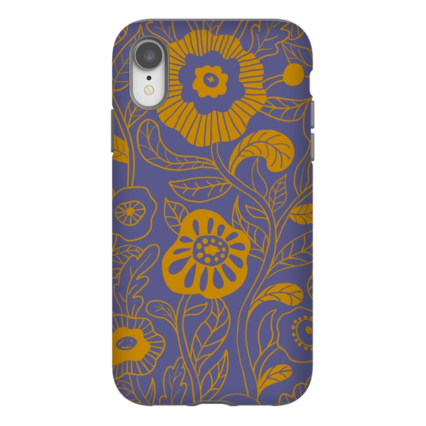 Tough Phone Case - Edie Floral Pattern