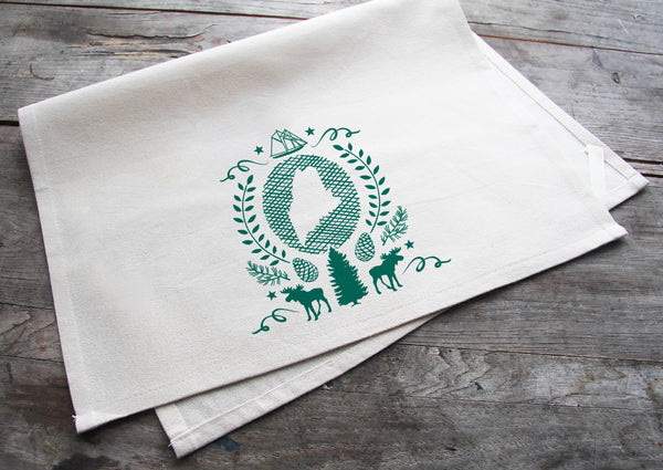 Choose Any Three Cotton Tea Towels for $40
