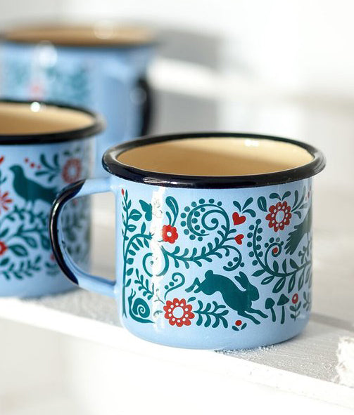 Woodlands Enamel Mug