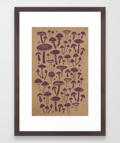 Fungi Framed Print - Large