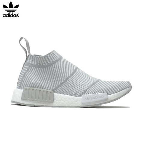 Adidas NMD City Sock Primeknit 'Light Grey/White'