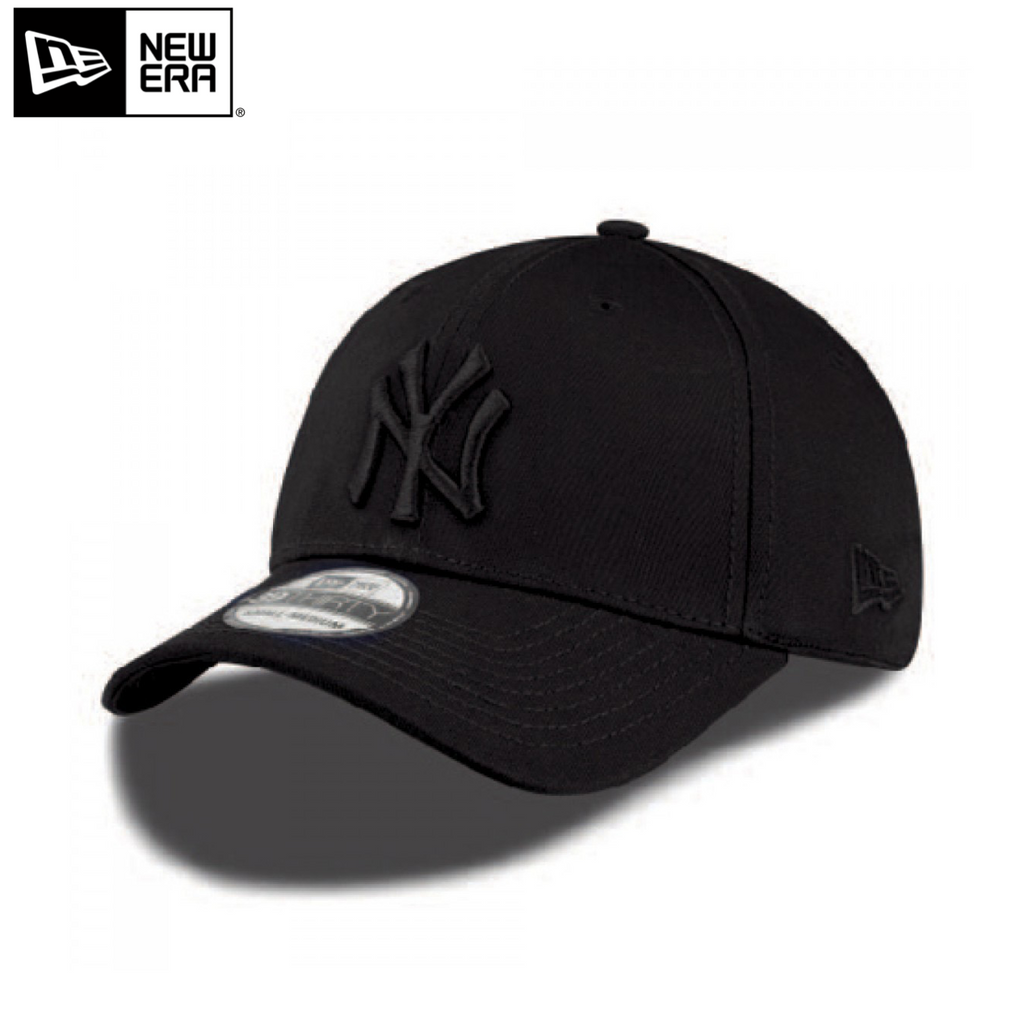 New Era New York Yankees 39Thirty Stretch Fit Cap 'Black/Black'