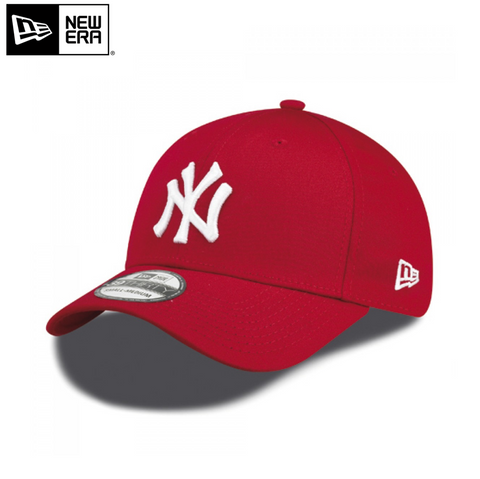 New Era New York Yankees 39Thirty Stretch Fit Cap 'Scarlet/White'