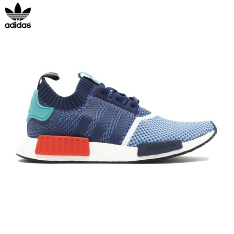 Packers x Adidas NMD R1 PK 'Light Blue/Indigo/Turquoise/Red'