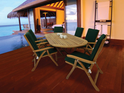Royal Teak Collection Family Expansion Table