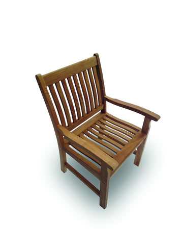 Compass Arm Dining Chair Royal Teak Collection