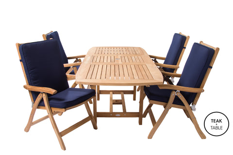 Estate Dining Set Royal Teak Collection