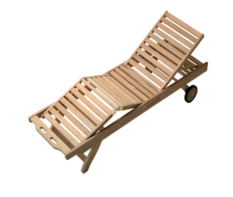 Royal Teak Collection Sunbed Chaise Lounge