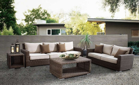 Coronado Outdoor Wicker Deep Seating Set