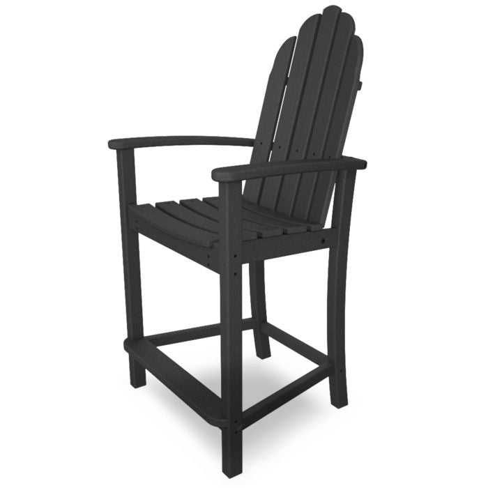 Polywood Classic Adirondack Counter Chair