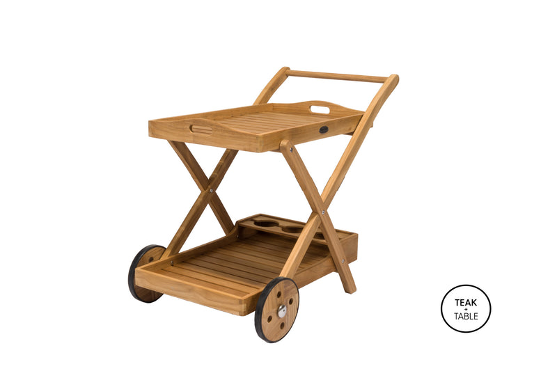 Tray Cart Royal Teak Collection