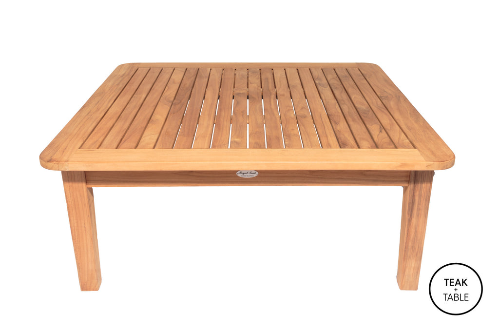 "Royal Teak Collection 42"" Square Coffee Table"