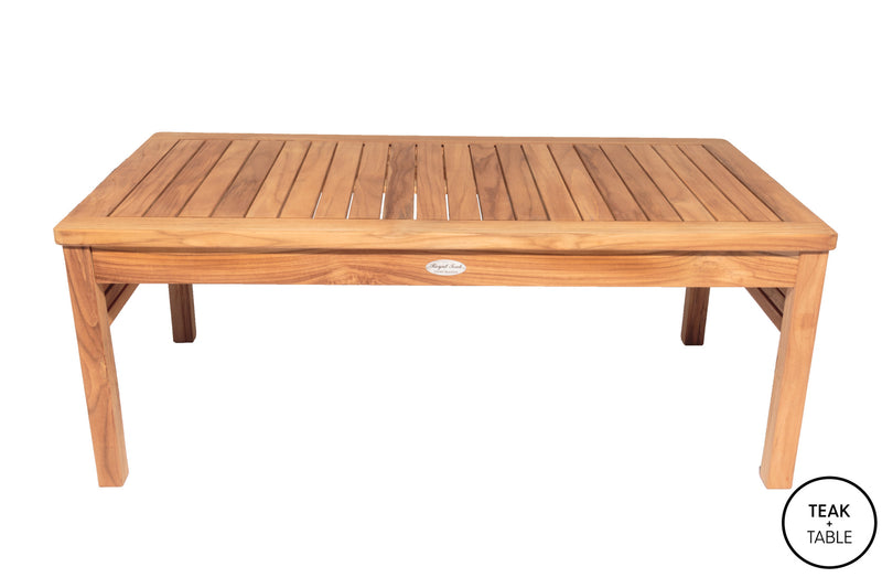 Miami Coffee Table Royal Teak Collection
