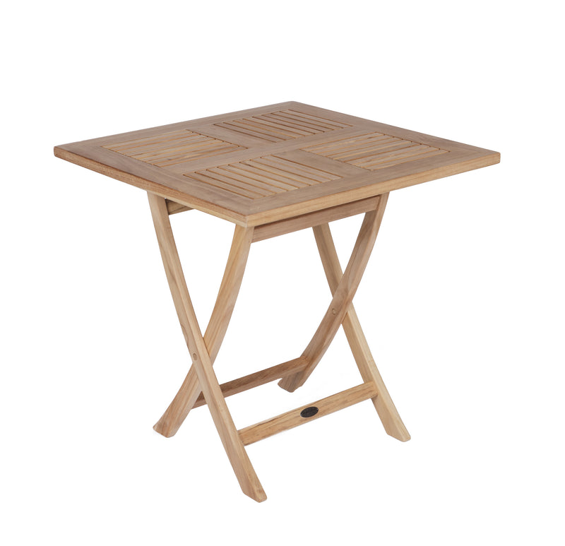 "Royal Teak Collection Sailor Folding Table 30"" Square"