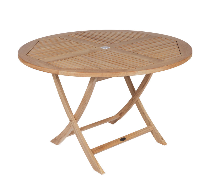 Royal Teak Collection Sailor Folding Table 47 Round