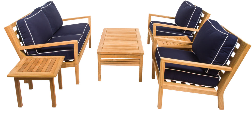 Coastal Collection Deep Seating Set