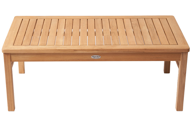 Royal Teak collection Teak Coffee Table