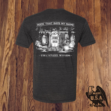 Load image into Gallery viewer, ROCK THAT SAYS MY NAME TEE - Made in USA