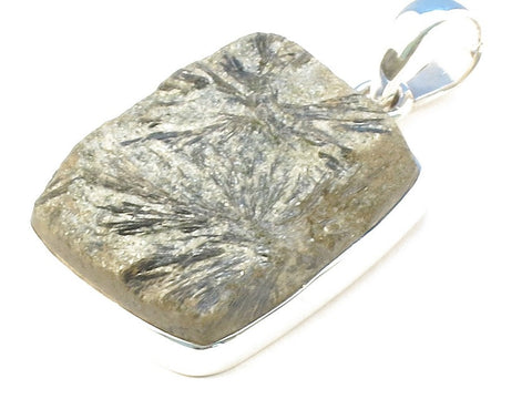 Design 113280 Wholesale Rectangle Agate .925 Sterling Silver Jewelry Pendant 1 1/2""
