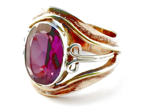 Design 105349 Amethyst .925 Sterling Silver Ring Size 5