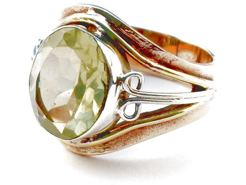 Design 105399 Citrine .925 Sterling Silver Ring Size 7