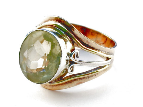 Design 105433 Citrine .925 Sterling Silver Ring Size 9