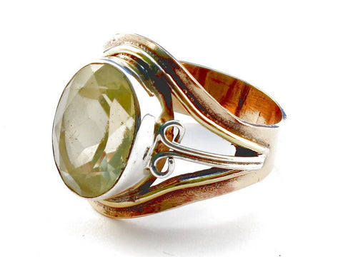 Design 105435 Citrine .925 Sterling Silver Ring Size 9