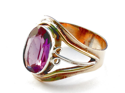 Design 105458 Amethyst .925 Sterling Silver Ring Size 9