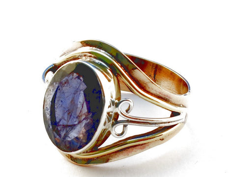 Design 105464 Amethyst .925 Sterling Silver Ring Size 9