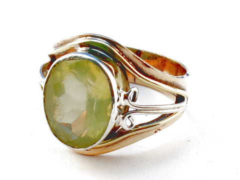 Design 105477 Lemon Topaz .925 Sterling Silver Ring Size 9