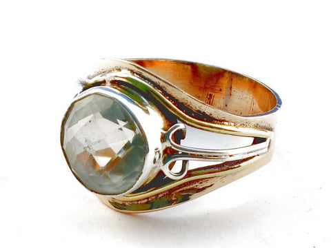 Design 105486 Citrine .925 Sterling Silver Ring Size 9