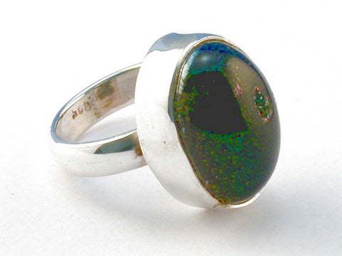 Design 103980 Geode Druzy .925 Sterling Silver Ring Size 5