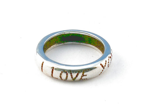 Design 104037 .925 Sterling Silver Ring Size 6