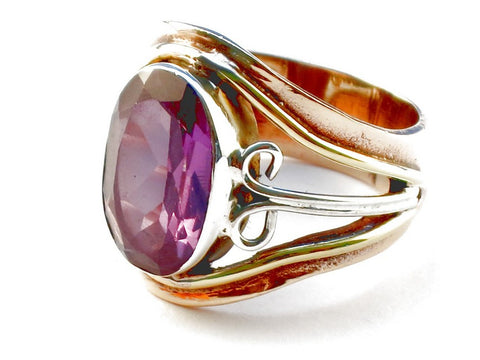 Design 105320 Amethyst .925 Sterling Silver Ring Size 5