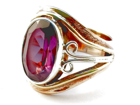 Design 105343 Purple Amethyst .925 Sterling Silver Ring Size 5