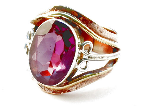 Design 105348 Amethyst .925 Sterling Silver Ring Size 5