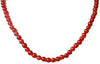 Build Your Own Carnelian Round Gemstone Strand 15""