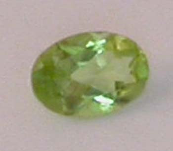 4X6 Oval Natural Peridot Loose Gemstone Gilbert & Frech