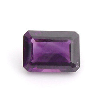 0.55 Ct. Natural African Amethyst Loose Gemstone 6x4 MM Octagon