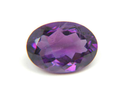 3.36 Ct. Natural African Amethyst Loose Gemstone 11x9 MM Oval