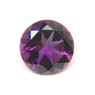 0.75 Ct. Natural African Amethyst Loose Gemstone 6x6 MM Round