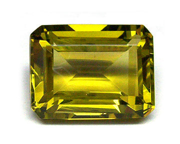1.05 Ct. Natural Lemon Topaz Loose Gemstone 7x5 MM Octagon