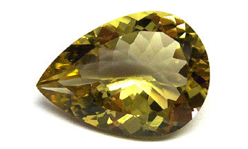 0.69 Ct. Natural Lemon Topaz Loose Gemstone 7x5 MM Pears